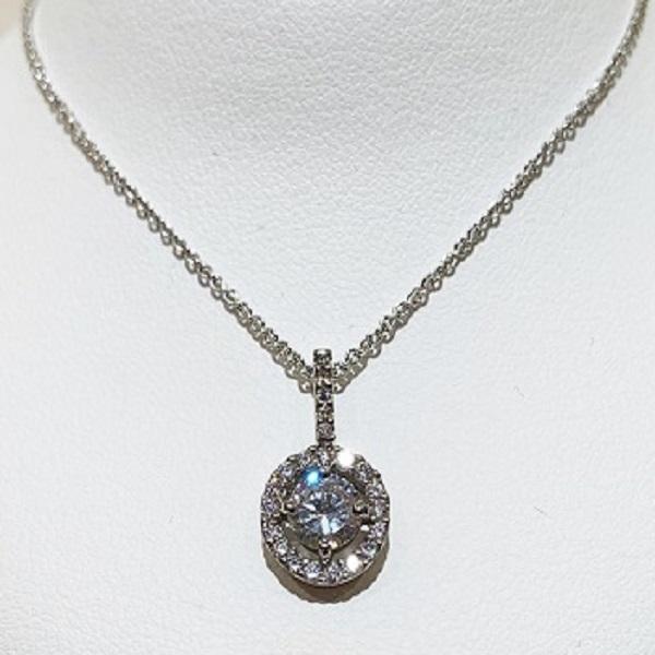 ジュエリーリフォーム婚約指輪からネックレス