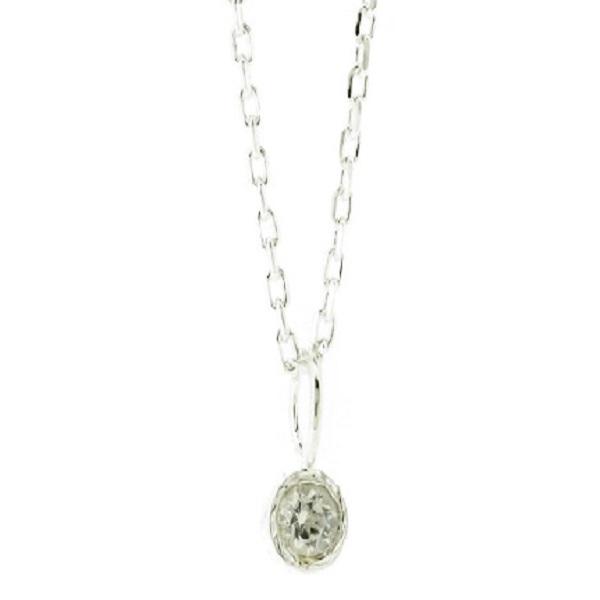 ダイヤモンドのネックレスから婚約指輪にジュエリーリフォーム
