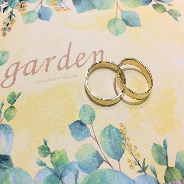 男性からの手作り指輪プレゼント