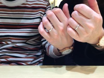 【姫路市】Pilot Bridalの結婚指輪をペアでご成約頂きました