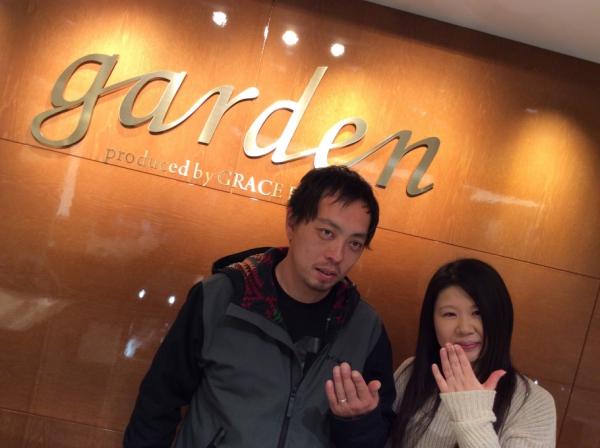 garden姫路で購入頂きました