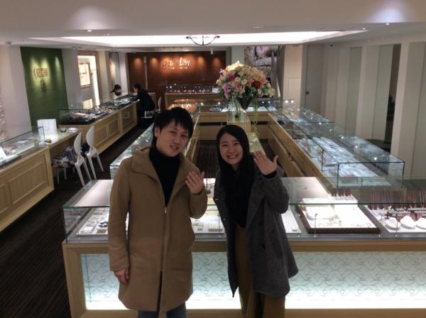 【加古川市】Mariageの結婚指輪をペアでご成約