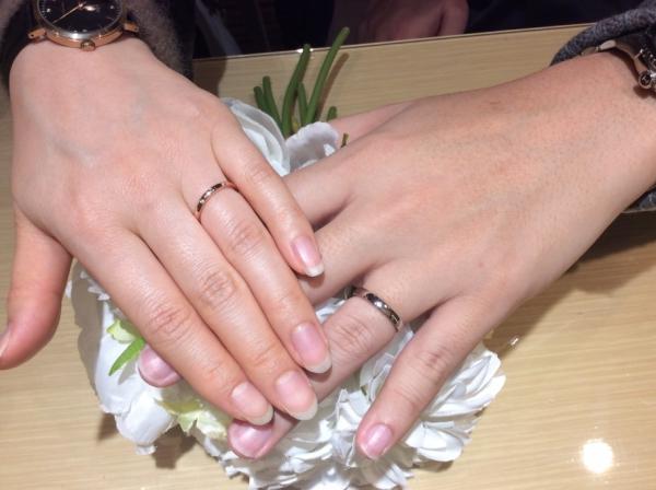 【姫路市】et.lu RosettEの結婚指輪をご成約