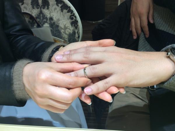 et.luの結婚指輪を購入頂きました。