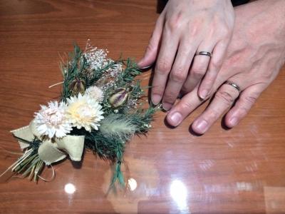 【明石市】VIAGGIOの結婚指輪をご成約