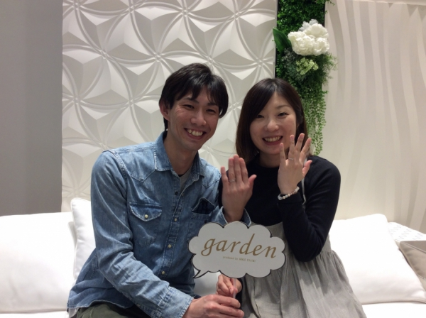 【神戸市】FISCHERの結婚指輪をご成約