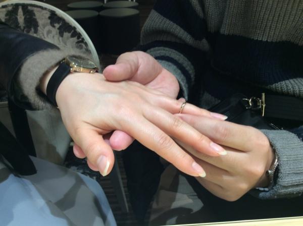 RosettEの結婚指輪を購入頂きました。