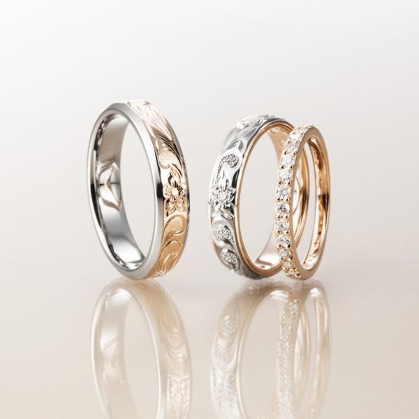 結婚指輪の買い替えにおすすめのデザインマカナ(ハワイアンジュエリー)