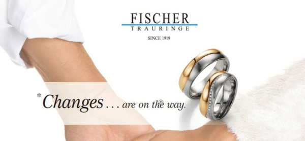 鍛造製法の婚約指輪・結婚指輪を紹介する特集でブランドのFISCHER(フィッシャー)を説明する画像