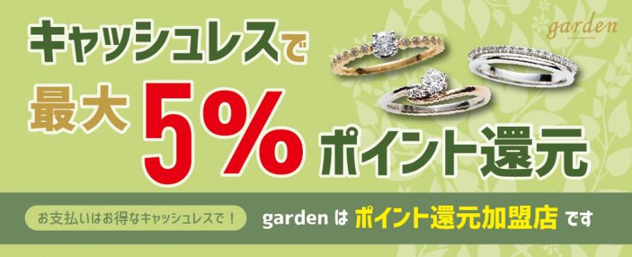 キャッシュレス決済【最大5%】ポイント還元加盟店