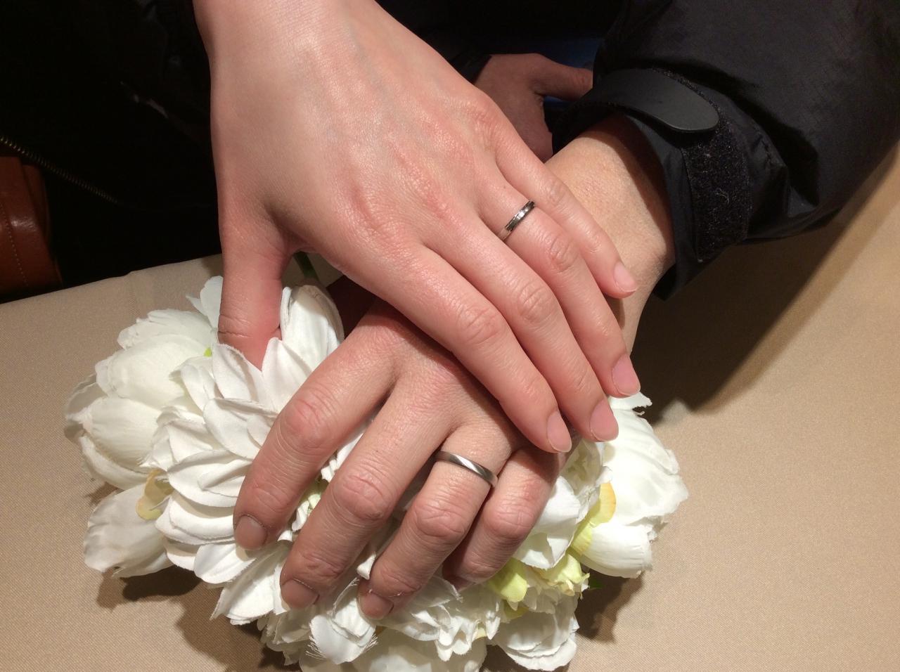 【姫路市】フィッシャーの結婚指輪をご成約いただきました。