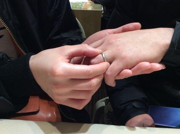 指輪交換1