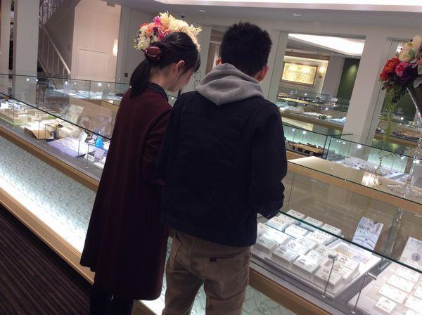 【神戸市】Pilot Bridalの結婚指輪をご成約いただきました。