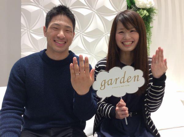 【加古川市】RosettEの結婚指輪をご成約いただきました。