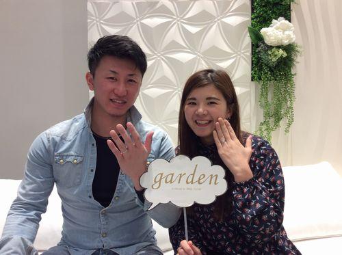 FISCHERとOnlyYou結婚指輪