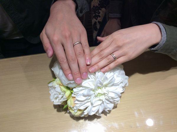 FISCHER結婚指輪鍛造製法