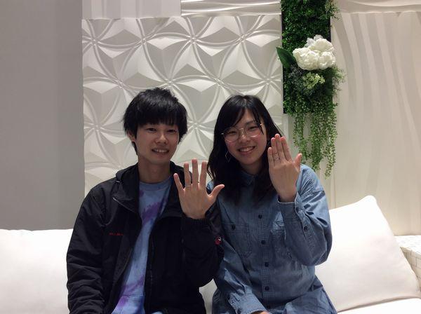 【姫路市】Passageの結婚指輪をご成約頂きました。
