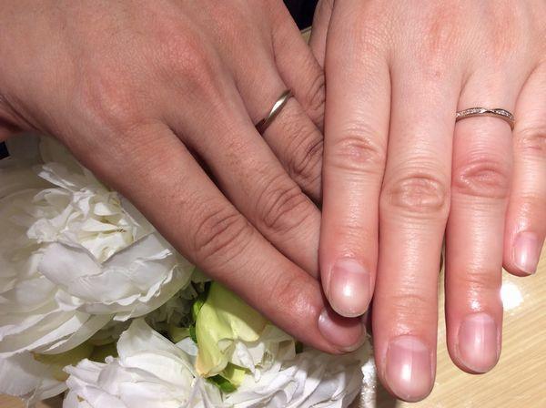 【姫路市】Preuveの結婚指輪をご成約頂きました。