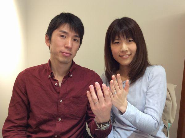 【広島県・姫路市】FISCHER/et.luの結婚指輪をご成約頂きました。