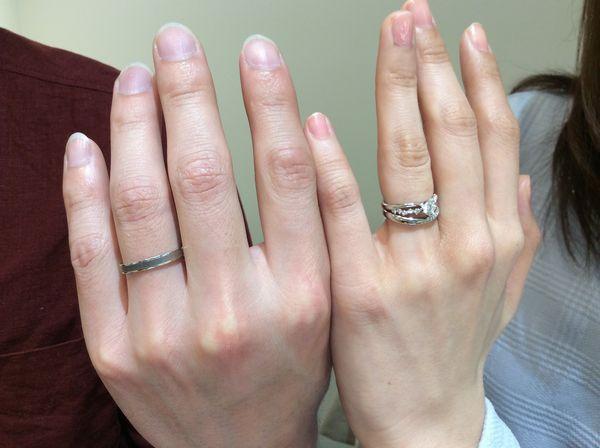 FISCHERとet.luの結婚指輪