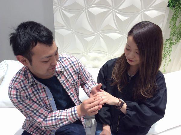 IDEALダイヤモンドgardenオリジナル婚約指輪