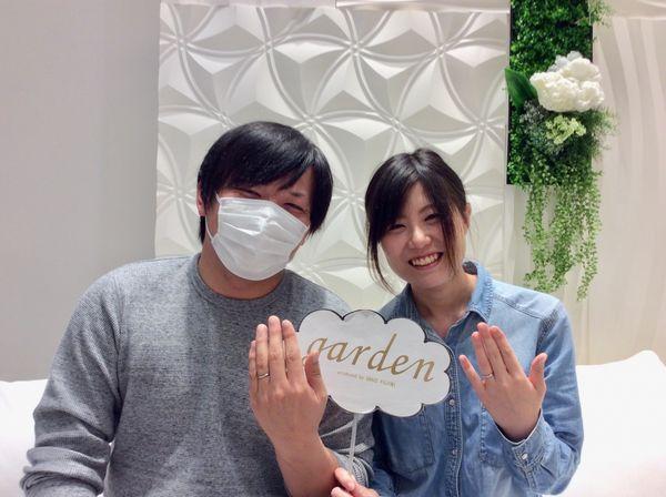 【姫路市】プリートの結婚指輪をご成約いただきました。