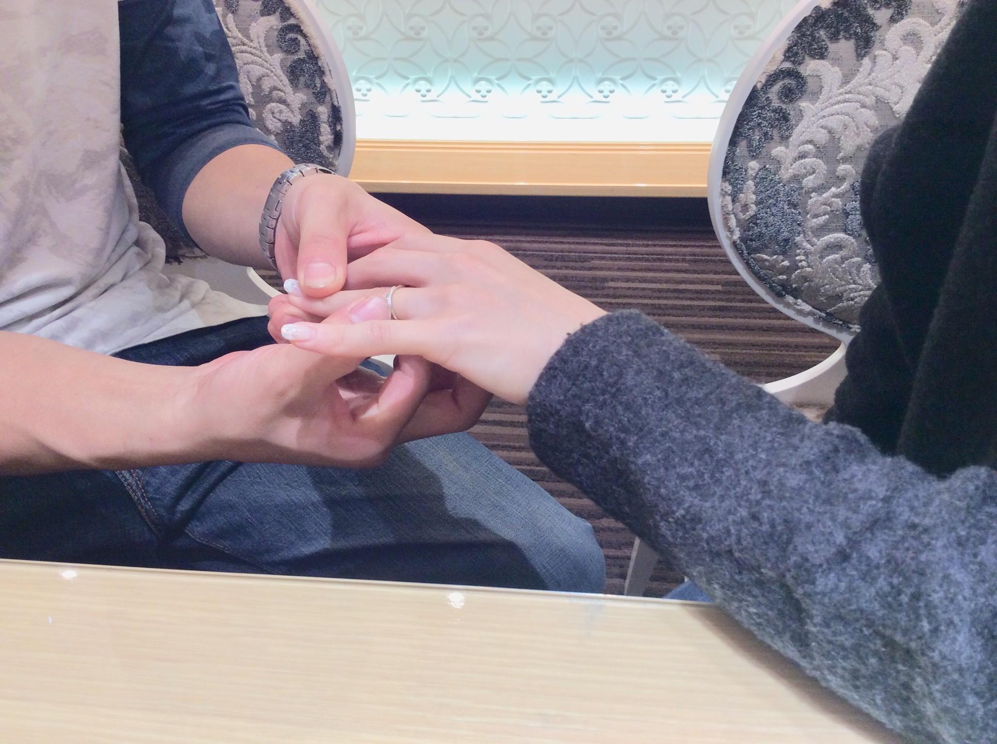 メール結婚指輪