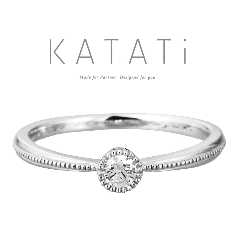 KATATiカタチ婚約指輪 MJK-13