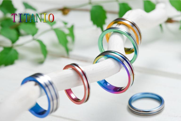 アレルギーフリーの結婚指輪TITANIO