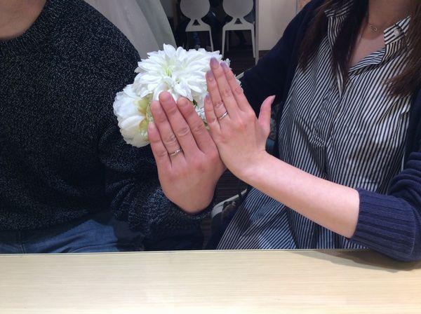 姫路市【Mariage ent】結婚指輪をご成約