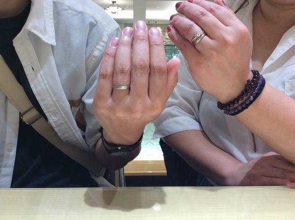 神戸市垂水区【FISCHER】結婚指輪をご成約頂ました。