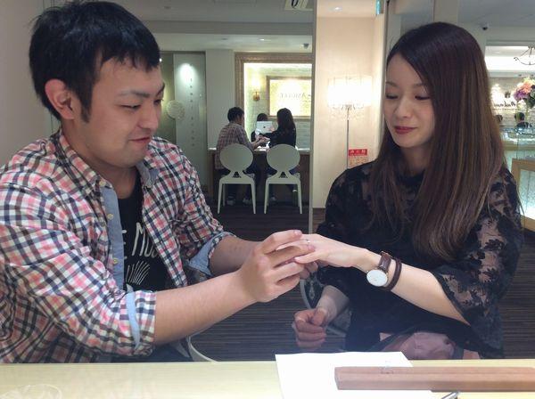 カタム結婚指輪長閑