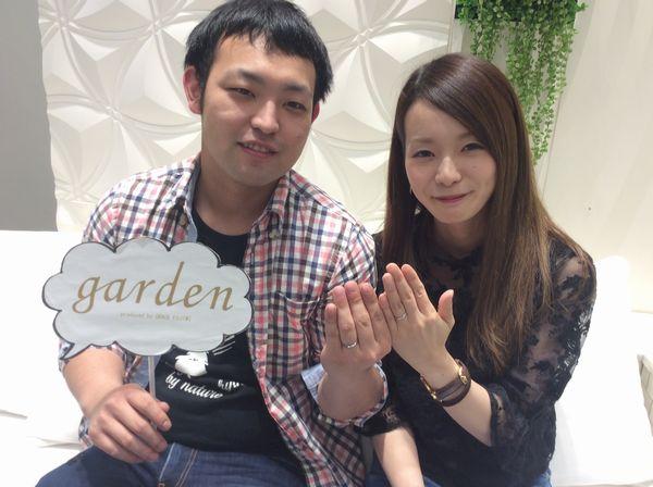 姫路市【Katamu・Pilot Bridal】の結婚指輪をご成約いただきました。