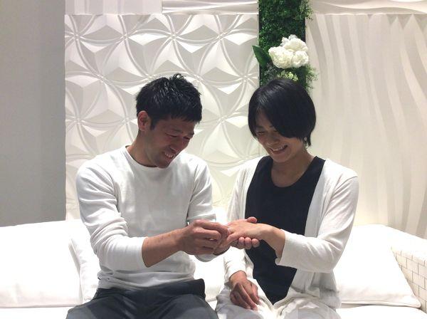 結婚指輪フィッシャー