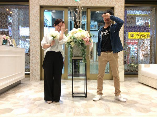 RosettEとOnlyYouの結婚指輪ペア