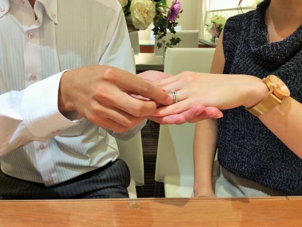 パヴェオショコラ結婚指輪エスポワール