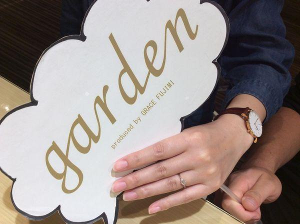 gardenオリジナル婚約指輪