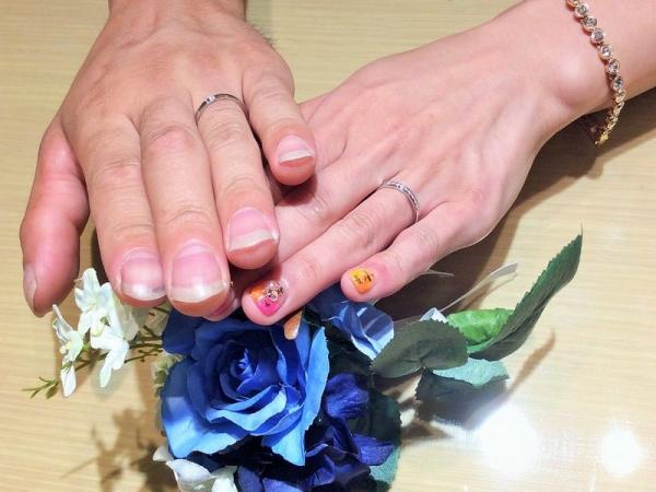 姫路市「Pilot Bridal」の結婚指輪をご成約頂きました。