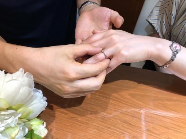 ラパージュ婚約指輪