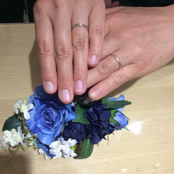 姫路市「Privatebeach,Ankhore」結婚指輪をご成約いただきました。