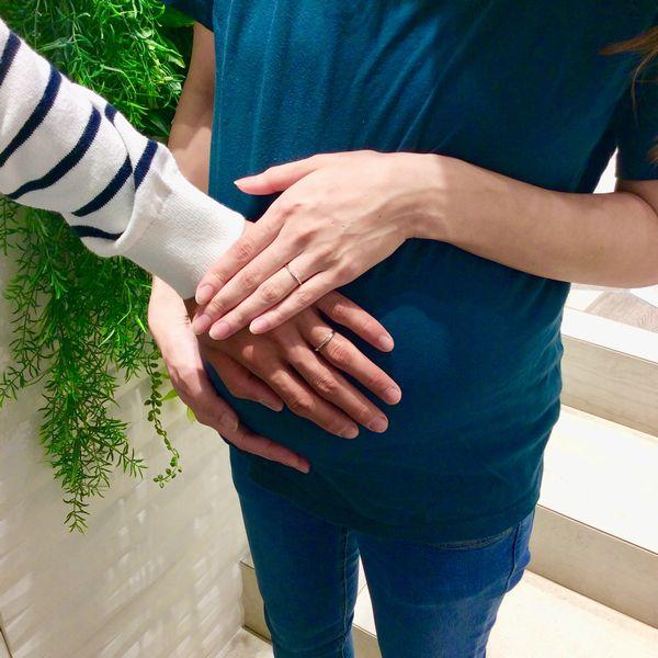 姫路市「Twins Cupid」結婚指輪をご成約いただきました。