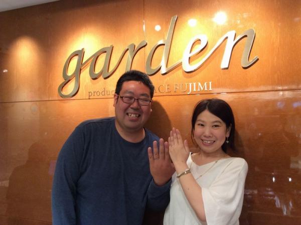 姫路市『FISCHER,Mariage ent』の結婚指輪をご成約いただきました。