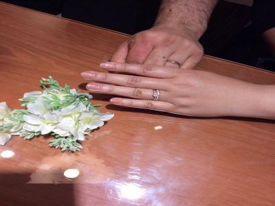 ひな婚約指輪