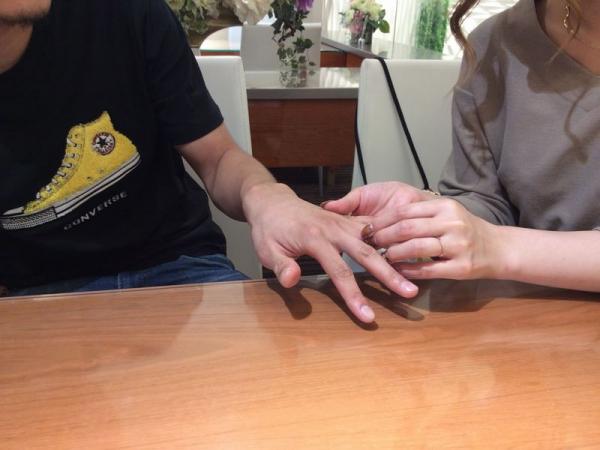 Milk&Strawberry結婚指輪エテルナ