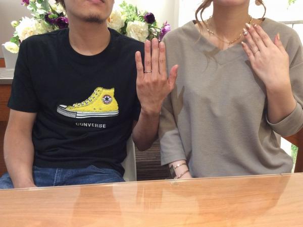 VIVAGE婚約指輪フェット