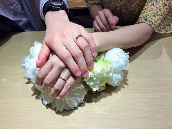 姫路市&たつの市「FISCHER」の結婚指輪をご成約頂きました。