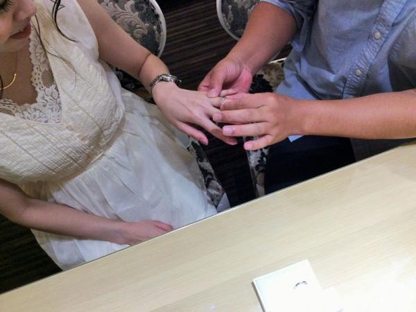 クワントマリアージュ結婚指輪