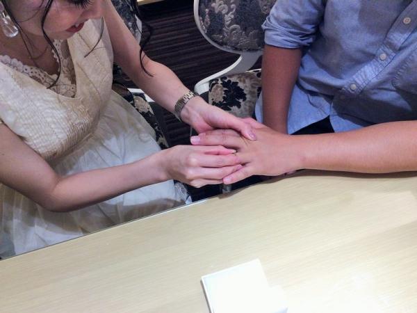 Quand de Mariageラタシェ結婚指輪