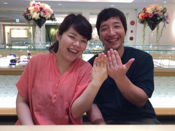 高砂市「Honey bride」の結婚指輪をご成約頂きました。
