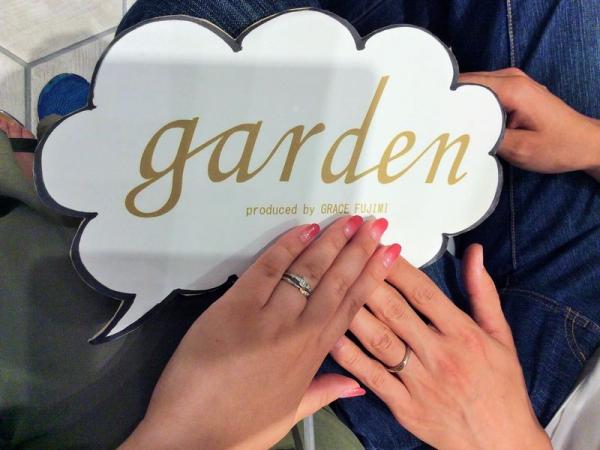アムールアミュレット結婚指輪アイリス